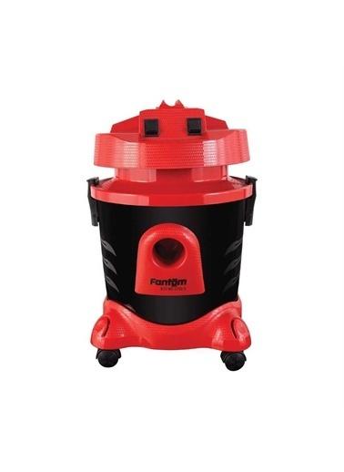 Fantom Eco Wd 2750-S Islak Kuru Elektrikli Süpürge Kırmızı Kırmızı